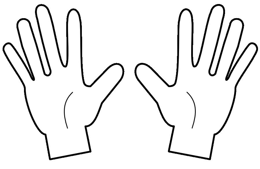 Count on education classwork. Fingers clipart ten finger