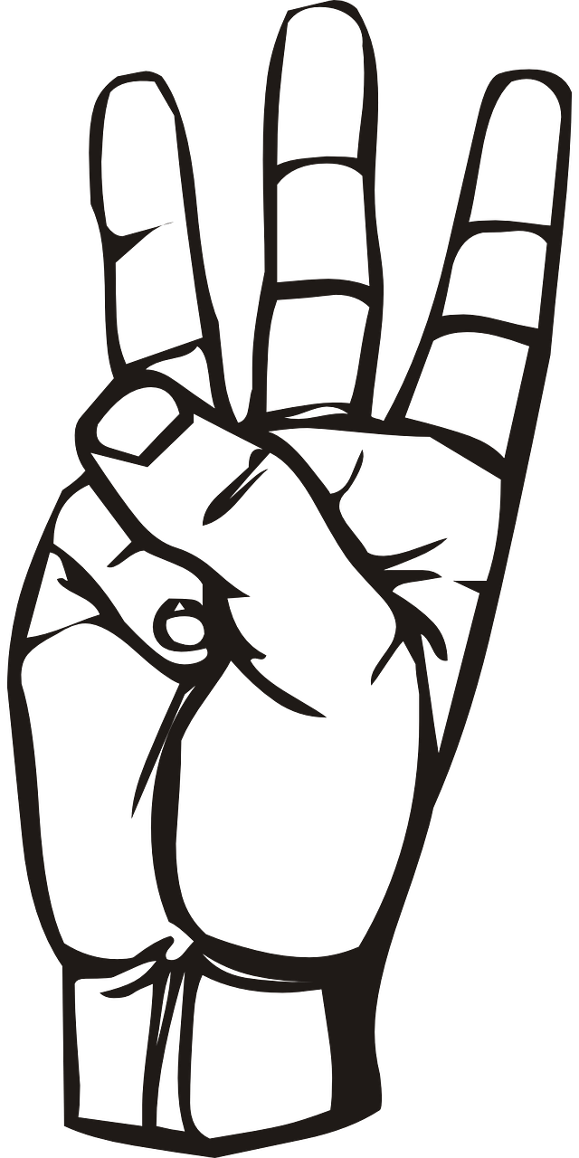 Finger clipart three finger. Is your project on