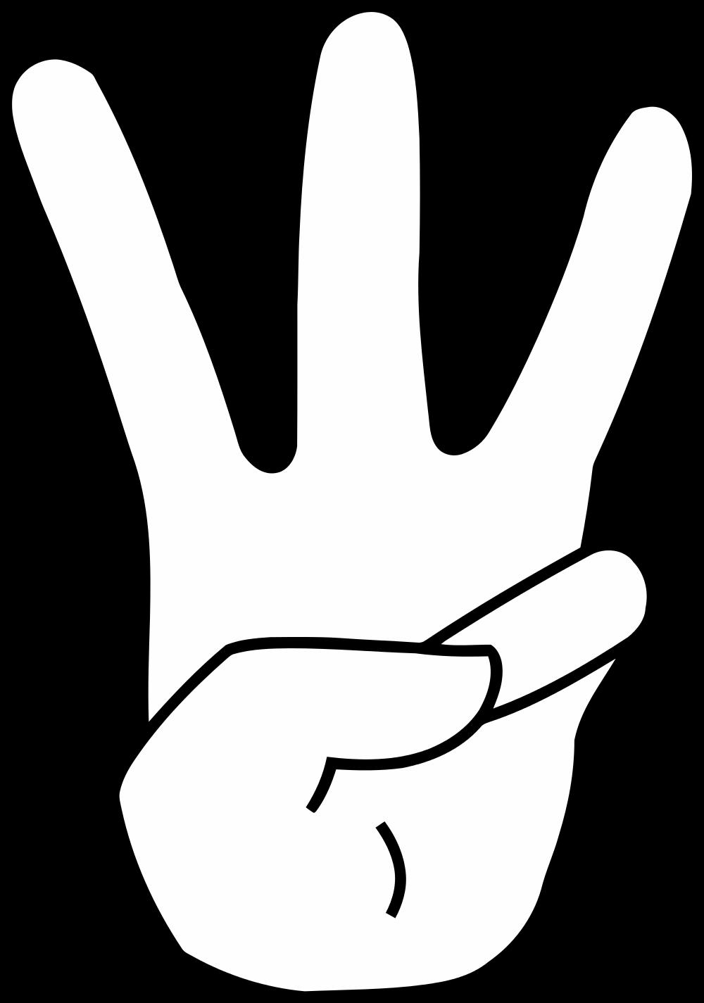 File hand svg wikimedia. Finger clipart three finger