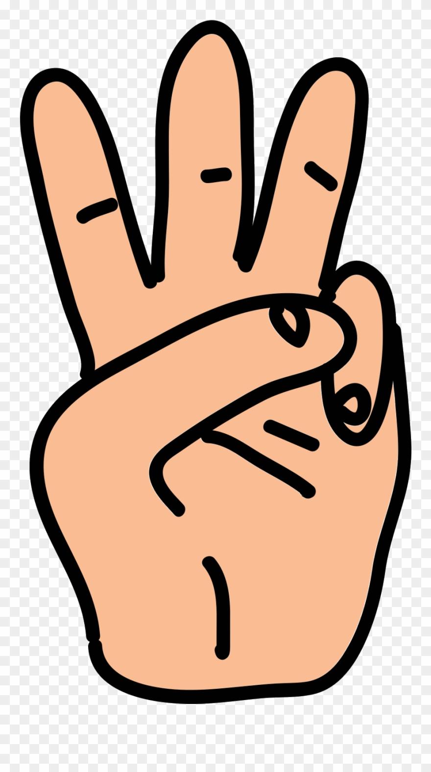 Finger clipart three finger. Snap fingers clip art
