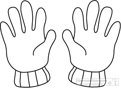 gloves clipartlook. Mittens clipart hand glove