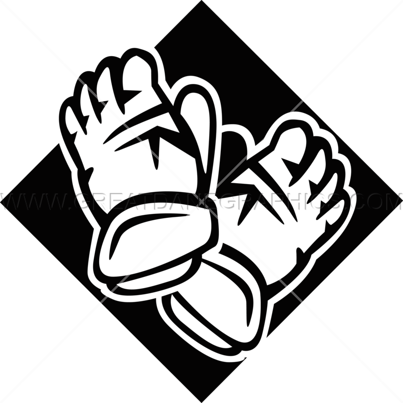Gloves clipart safety equipment. Hockey production ready artwork
