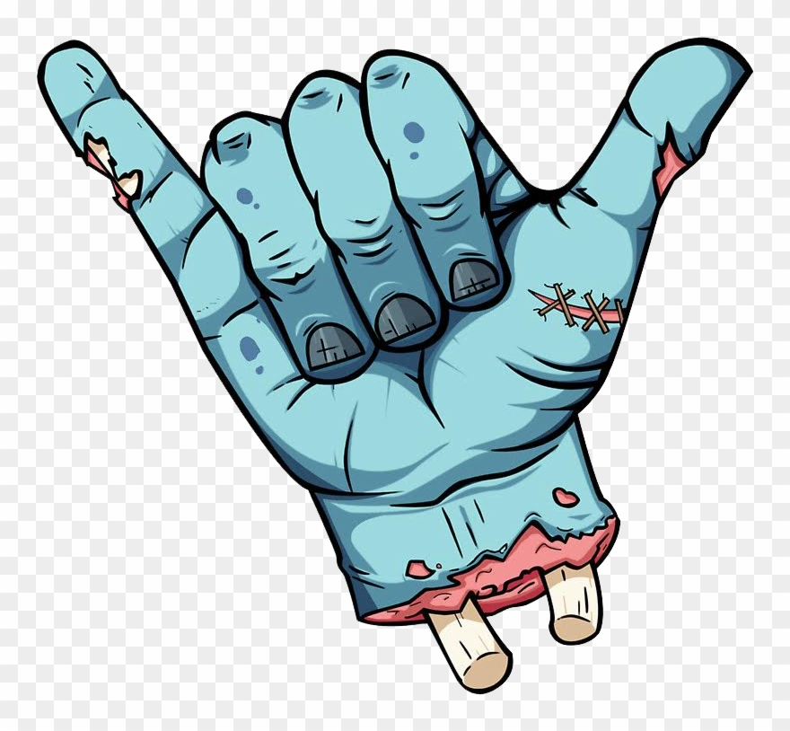 Claws stickers png download. Zombie clipart witch finger