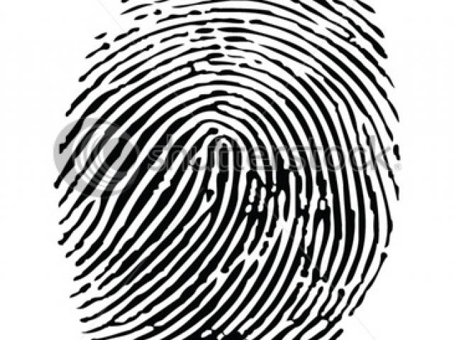 Free download clip art. Fingerprint clipart animated