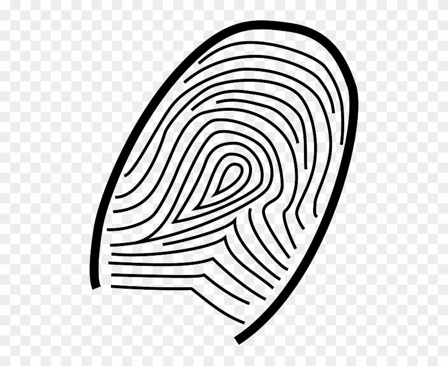 Clip art png download. Fingerprint clipart big
