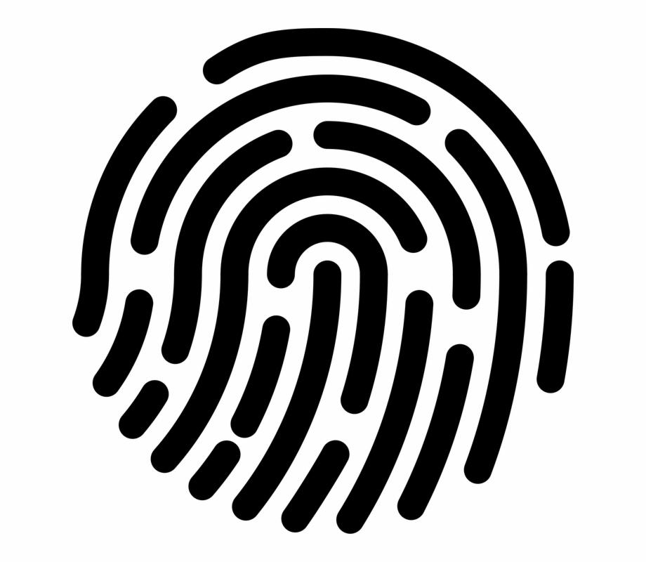 Fingerprint clipart dna fingerprint. Banner royalty free stock