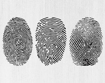 File etsy . Fingerprint clipart imprint