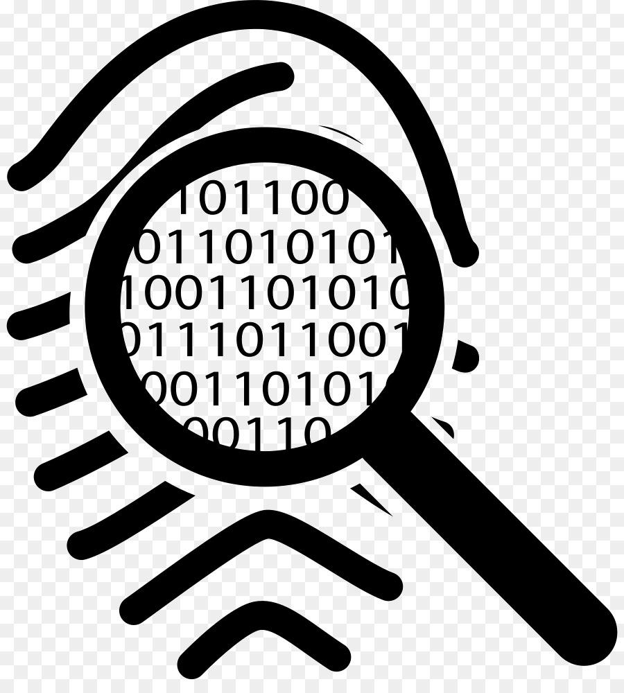 Glass logo png download. Fingerprint clipart magnifying lens