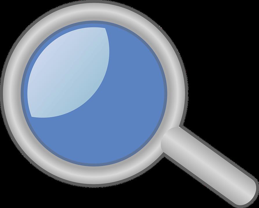 Fingerprint clipart magnifying lens. Glass picture shop of