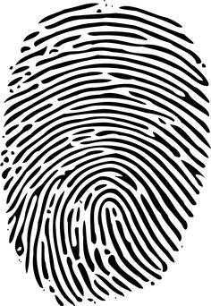 Clip art free panda. Fingerprint clipart real