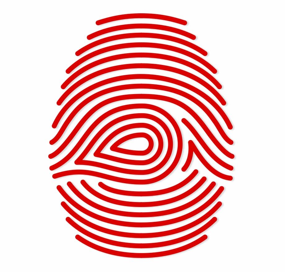 Fingerprints black and white. Fingerprint clipart real