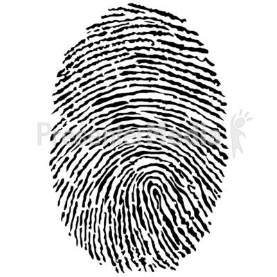 Fingerprint clipart real.  clipartlook