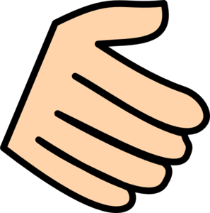 Fingers clipart. Clip art at clker