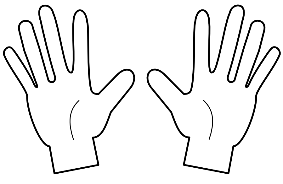 Fingers clipart.