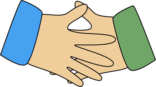 Handshake clipart clasped hand. Clip art free panda