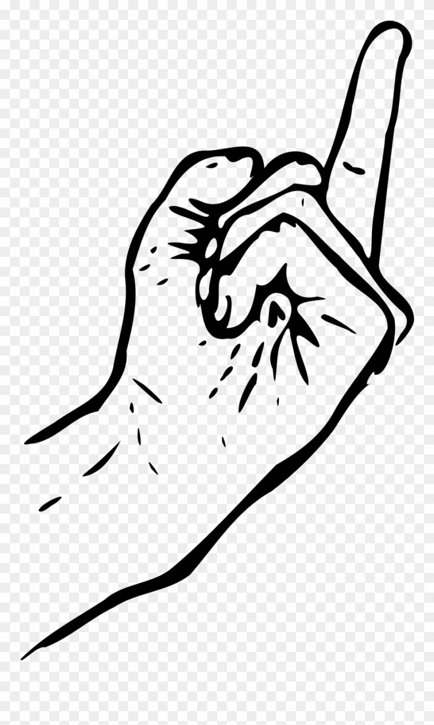 Fingers clipart drawing, Fingers drawing Transparent FREE ...