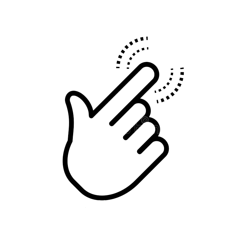 Hand png wpdevil icon. Fingers clipart finger click