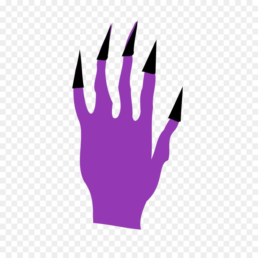 Halloween cartoon background . Fingers clipart finger nail