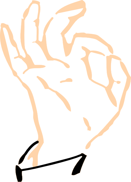 Tapping clip art at. Fingers clipart finger tap