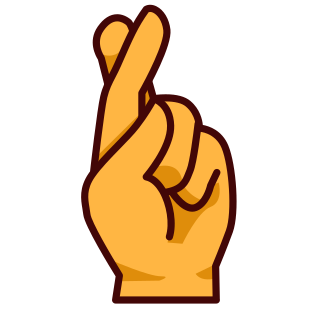 Crossed free download best. Fingers clipart first finger