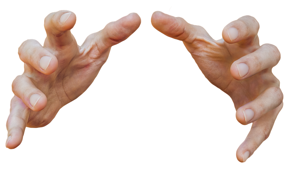 Fingers clipart hand grab. Free image on pixabay