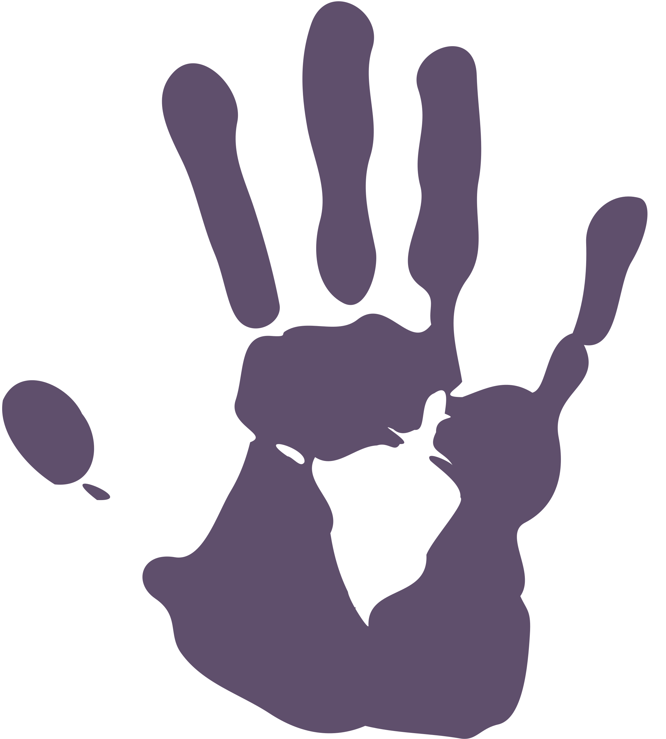 Handprint clipart black and white. Palmprint big image png