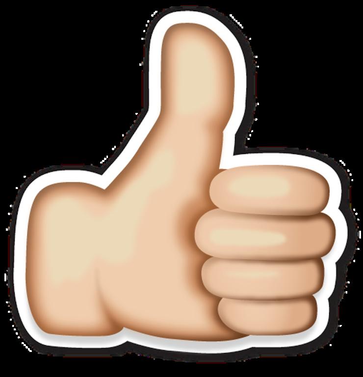 Thumb clipart middle emoji. Resultado de imagen emojis