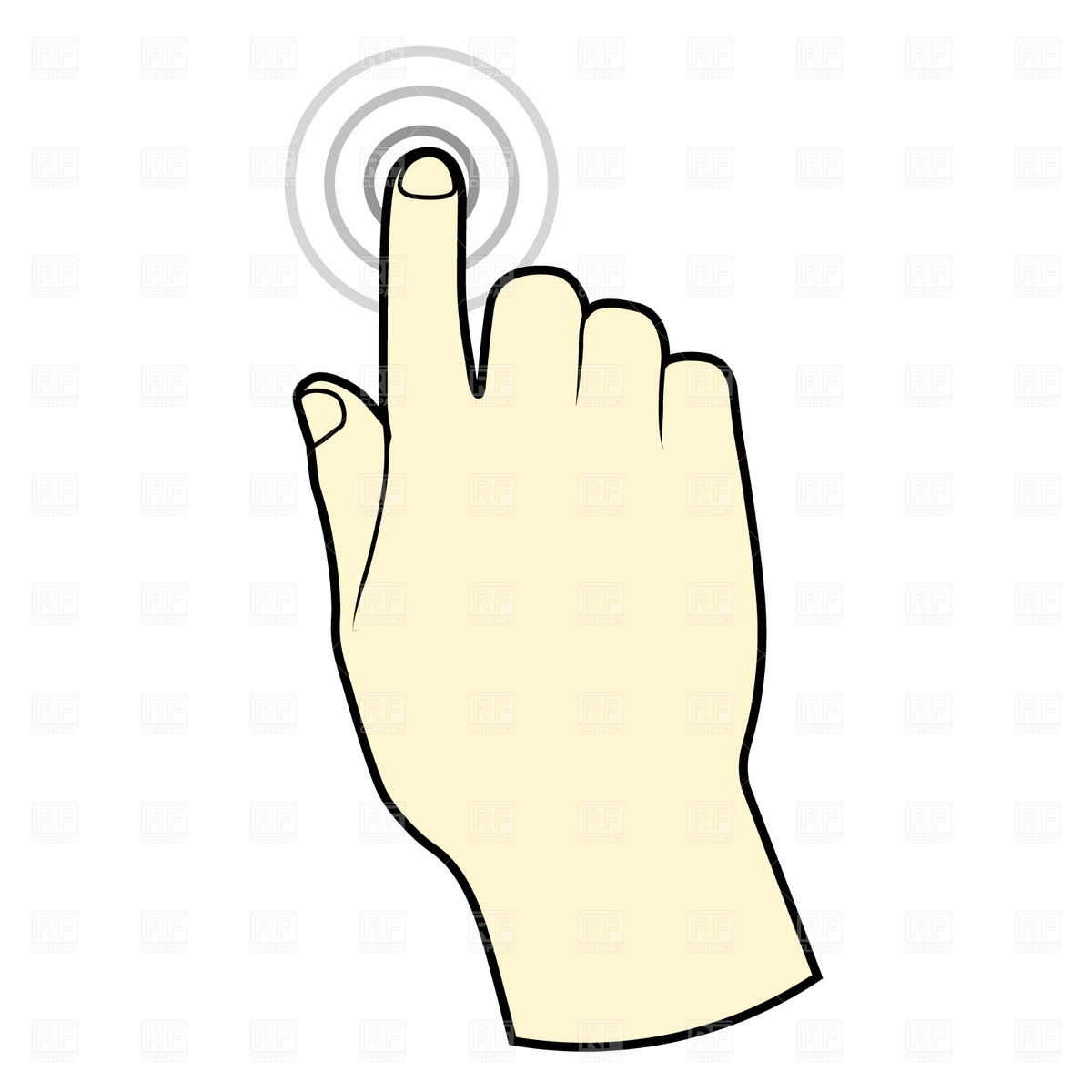 free download best. Fingers clipart sense touch