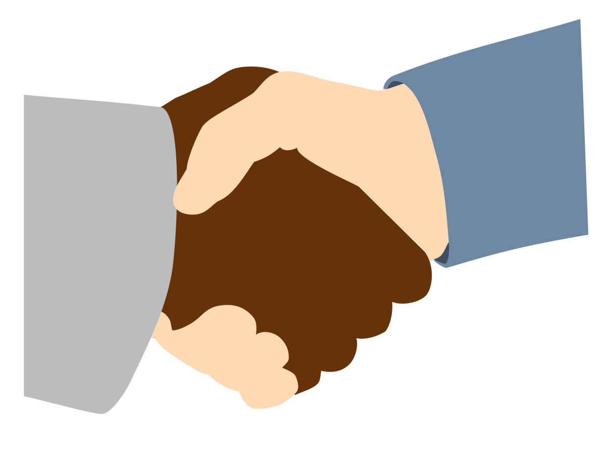 The surest way to. Handshake clipart conflict