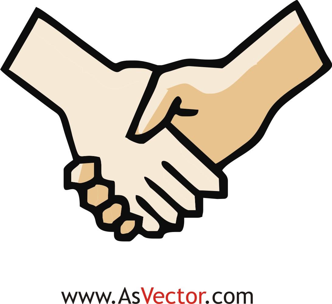 Handshake clipart handshaking. Free shaking hands cliparts