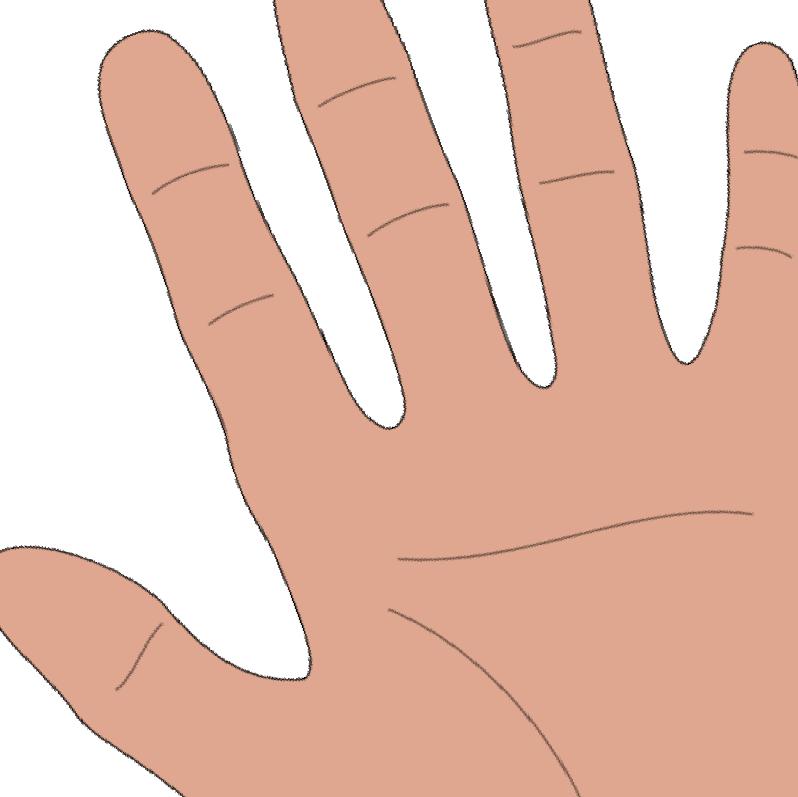 hand nails designs. Fingers clipart short nail
