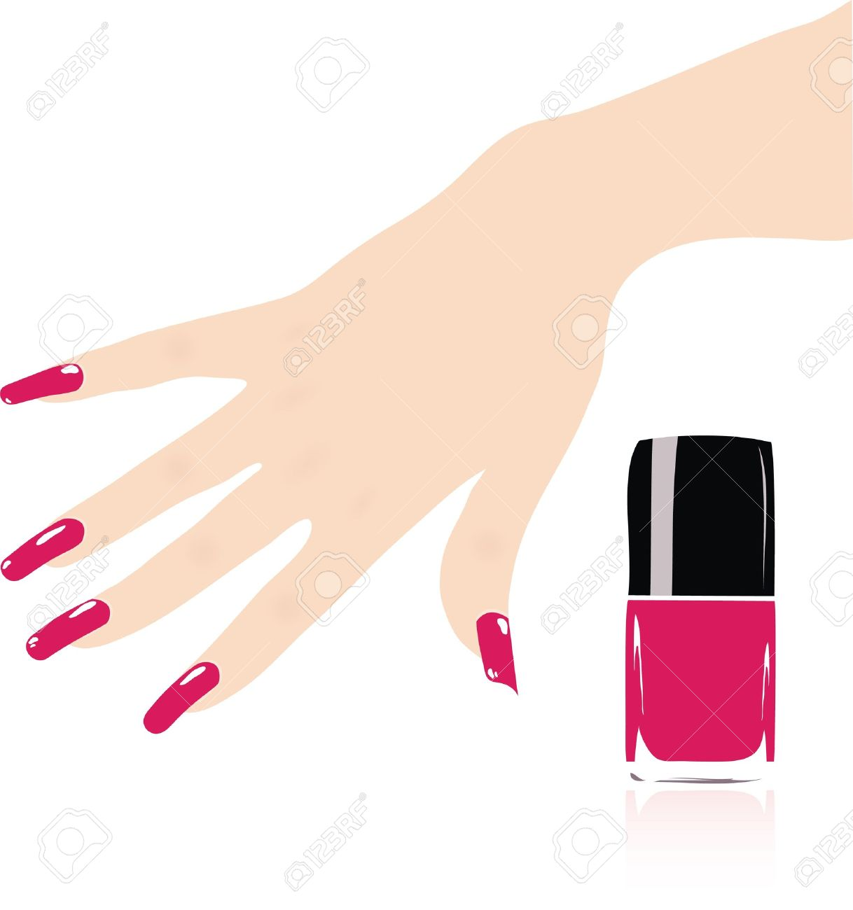 Fingernail free download best. Nails clipart nail care