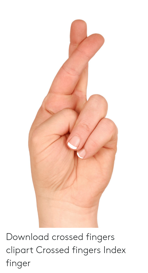 Download crossed index . Fingers clipart six finger