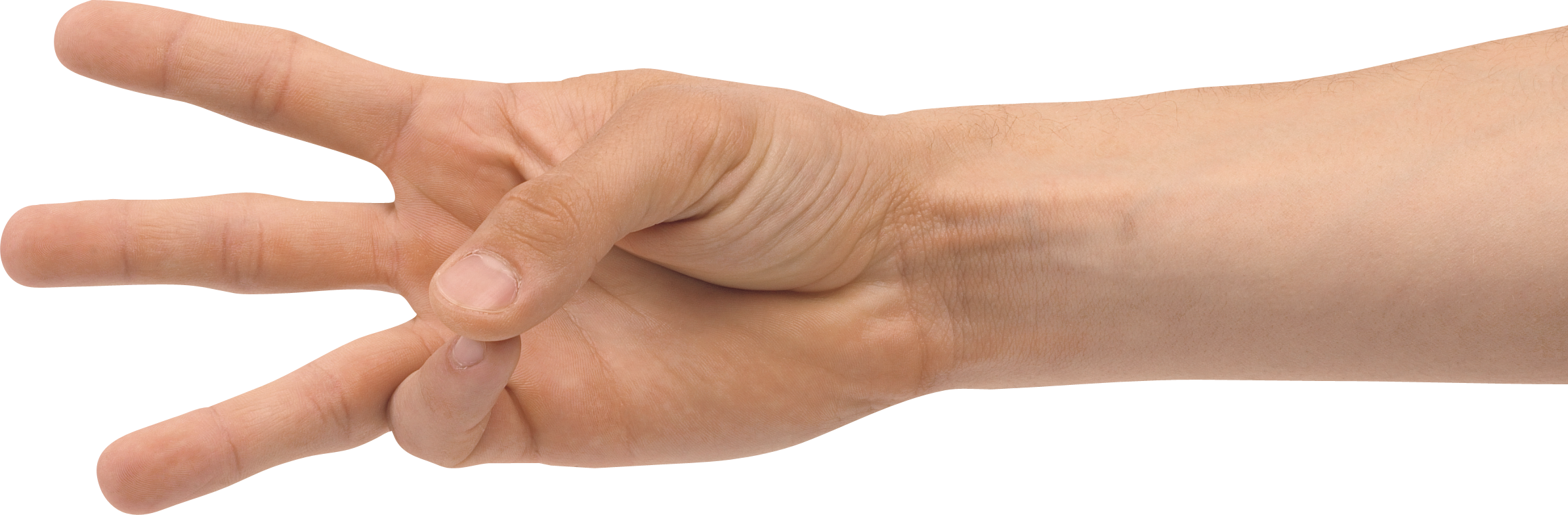 Fingers clipart three finger. Hand png image purepng