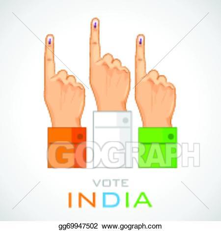 Vote finger portal . Fingers clipart voting