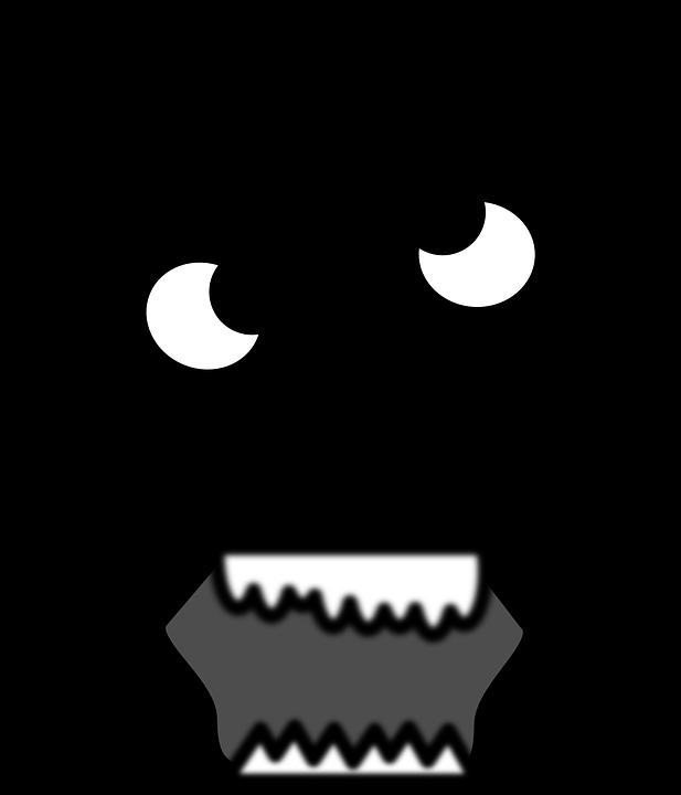Worm clipart creepy. Scary head frames illustrations