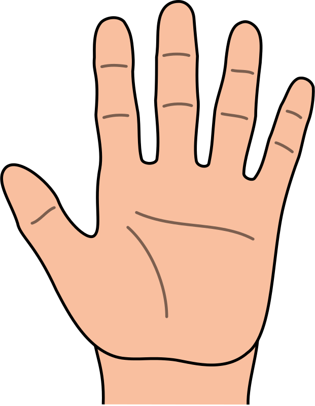 Number 1 clipart one finger. Free fingers cliparts download