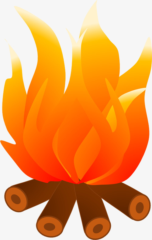 Fire clipart. Small clip art images