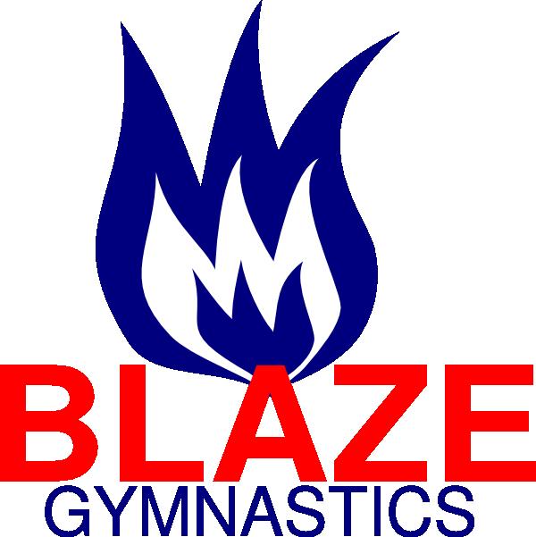 Fire clipart blaze. Gymnastics clip art at