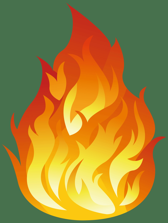 Fire . Flames clipart border