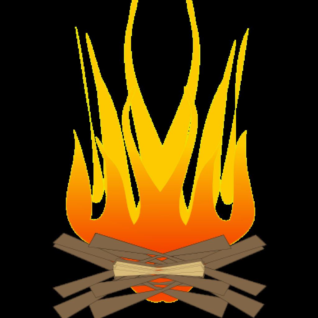 Fire clipart bon fire. Bonfire wave hatenylo com
