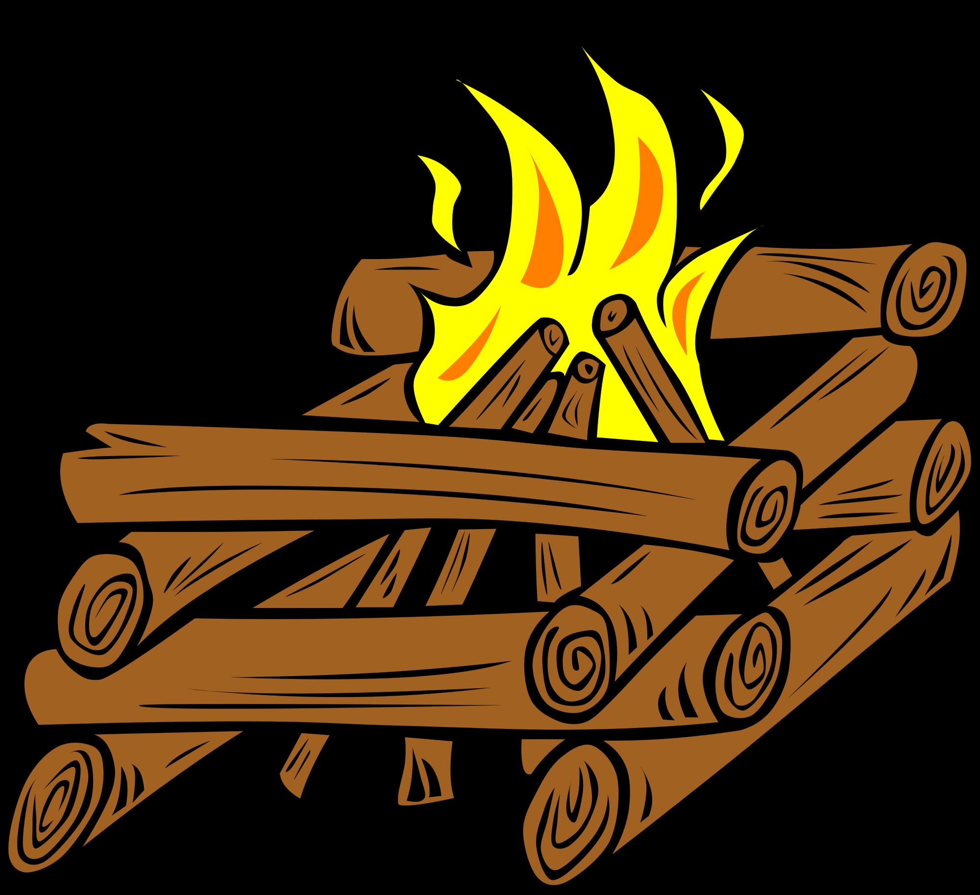 Fire clipart cartoon. Camp hot thing pencil
