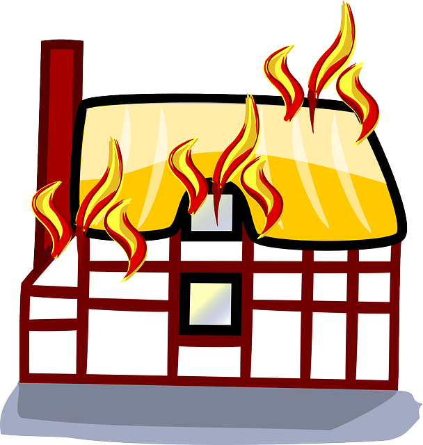 Fire school free on. Flames clipart comic
