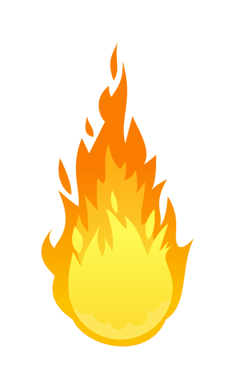 Fireball clipart flame design. Png free images toppng