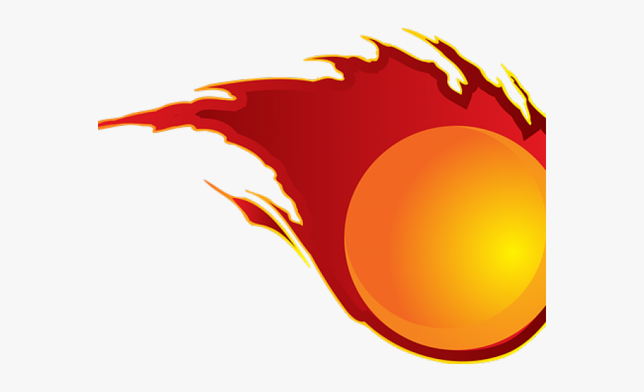 Fireball clipart red. Transparent ball with fire
