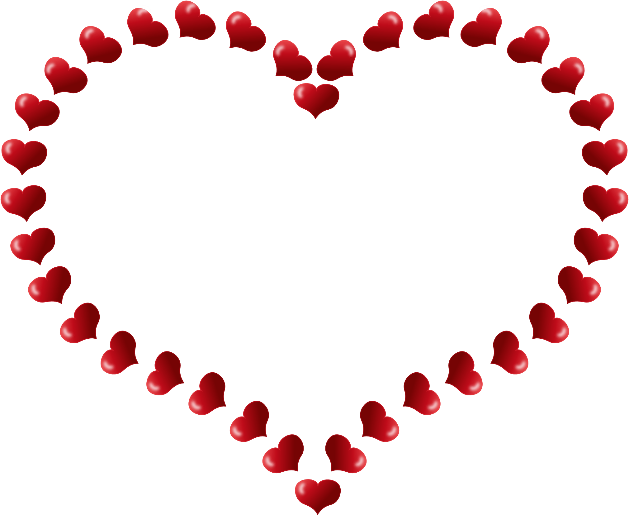 Hearts transparent png. Heart outline on fire