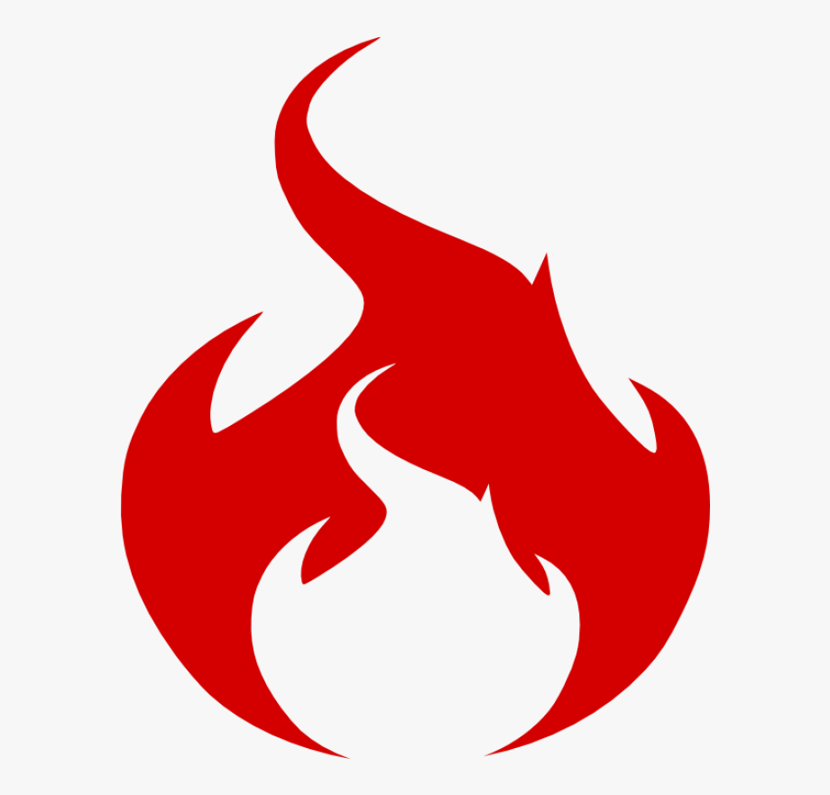 Flame logo png red. Flames clipart fire symbol