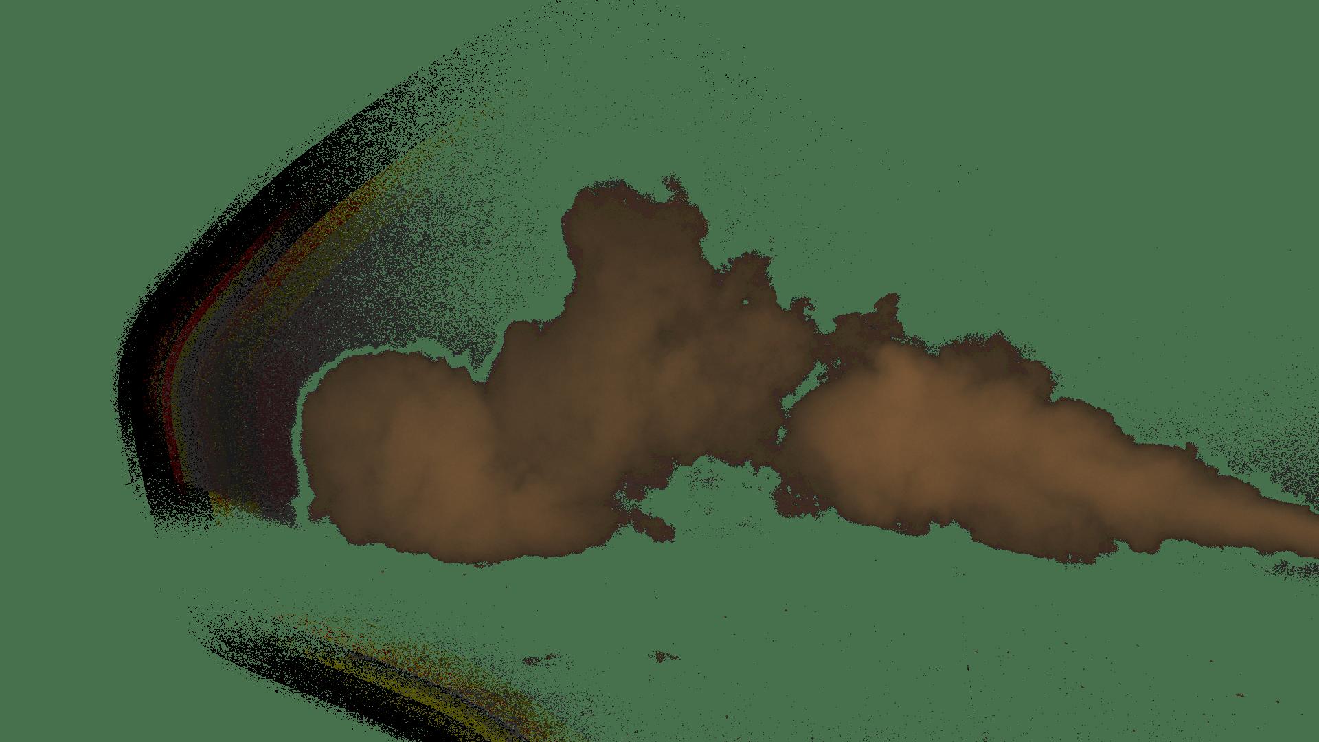 Brown stickpng. Smoke transparent png