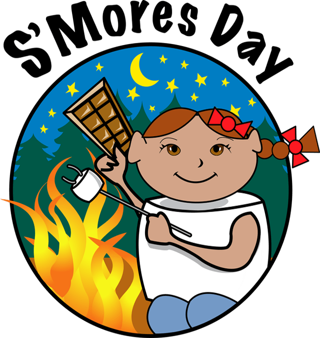 Smores png the best. Fire clipart smore