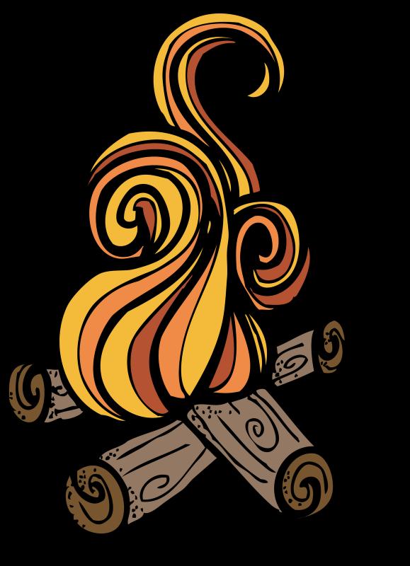 Fire clipart smore. Bon clip art ourclipart